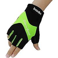 Snow Fox Sports Boodun Biking Gloves, Cycling Gloves Mountain Bike Gloves Half Finger Antiskid Road Racing Riding Bicycle Gloves Men/Women