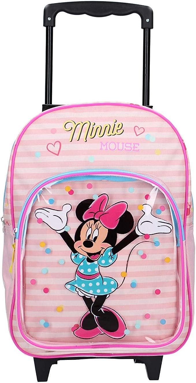 Minnie Mouse Licorne-Sac /à Dos 3D /à roulettes Petit