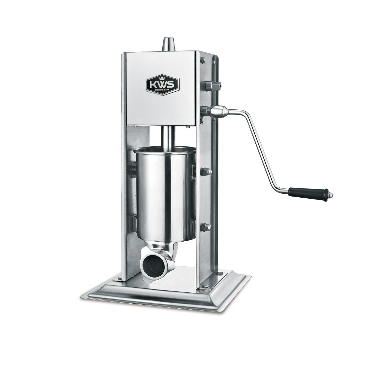 KWS Professional Commercial Sausage maker Sausage Stuffer ST-3L/ 6.6LB heavy duty gear system by KitchenWare Station