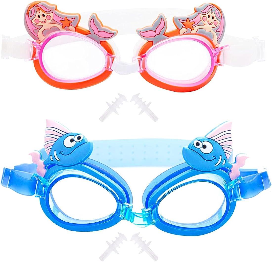 Miotlsy Gafas natacion niña gafas natacion niño Gafas Natación Antivaho Resistentes para Nadar Bucear Protección UV Sin Fugas Piscina Playa de Visión Amplia Clara para Piscina Deportes Acuáticos