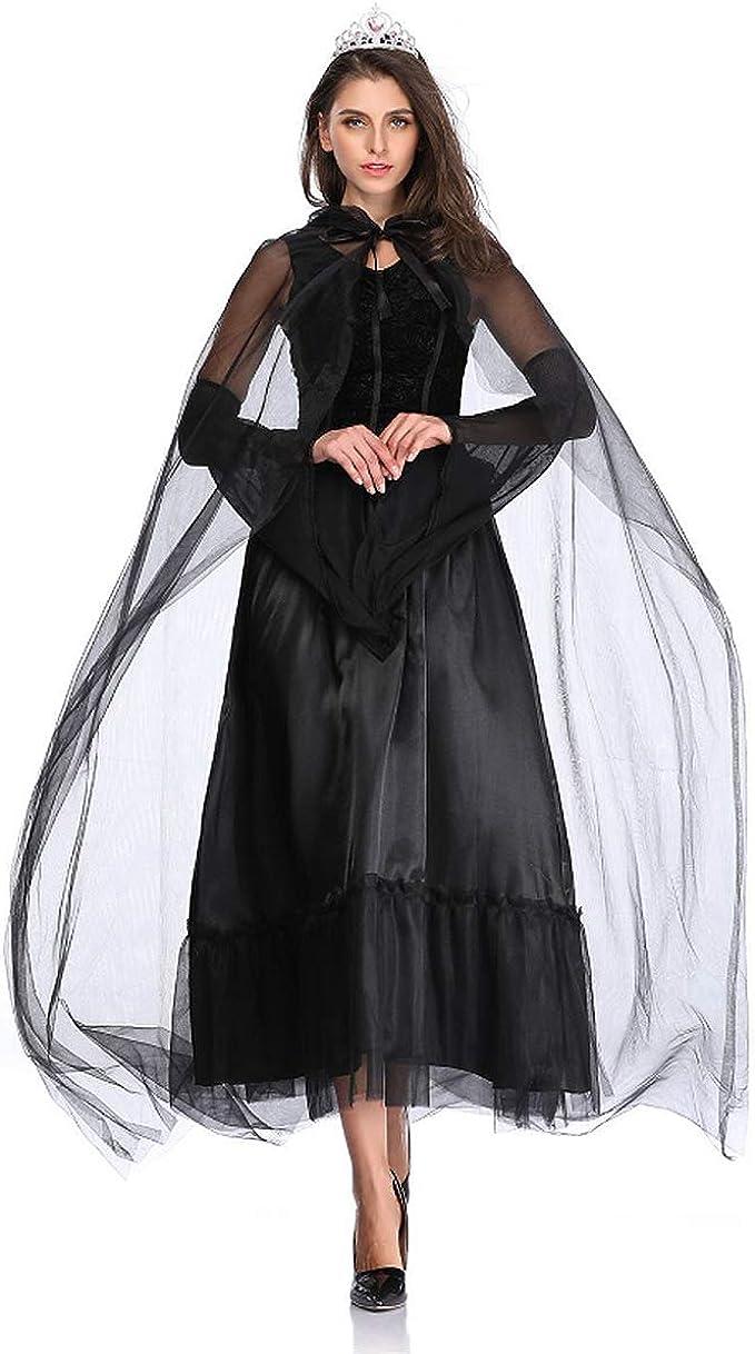 Vestido Dama,Fantasma de Halloween/Zombie/Vestido de Terror ...