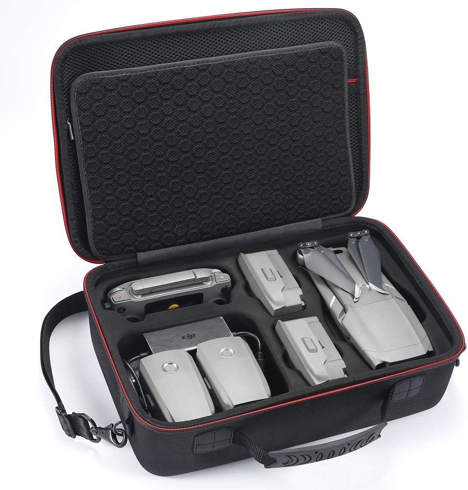 Hart Tragetasche für DJI Mavic 2 Pro/Zoom und Fly More Kit, Ideal für Reisen und Aufbewahrung (Nicht geeignet für Mavic pro / Mavic Platinum)