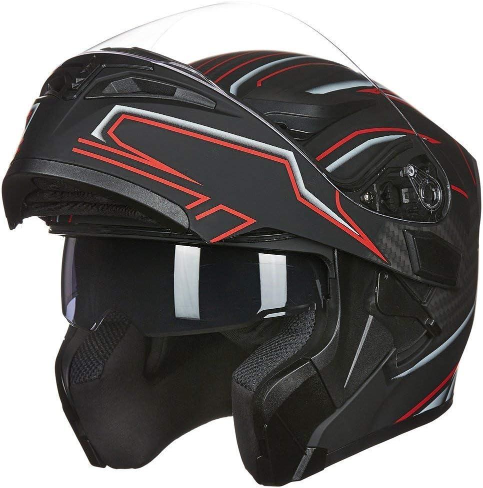 ILM Dual Visor Motorcycle Helmet