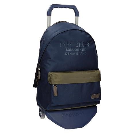 Pepe Jeans Alber Mochilas escolares, 42 cm, 22.79 litros, Multicolor