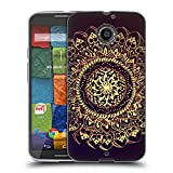 Official Magdalena Hristova Gold Mandala Soft Gel Case for Motorola Moto G (3rd Gen)