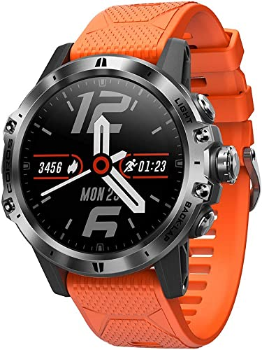 COROS VERTIX GPS Adventure Watch w Oximeter, Titanium Alloy, Sapphire Glass, 24 7 Blood Oxygen Monitoring, Altitude Performance Index, Battery Life of 45 Days Regular use or 60h Full GPS Tracking