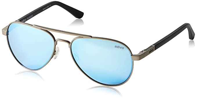 ac2e69fbd1f Image Unavailable. Image not available for. Color  Revo Raconteur RE 1011  00 BL Polarized Aviator Sunglasses ...