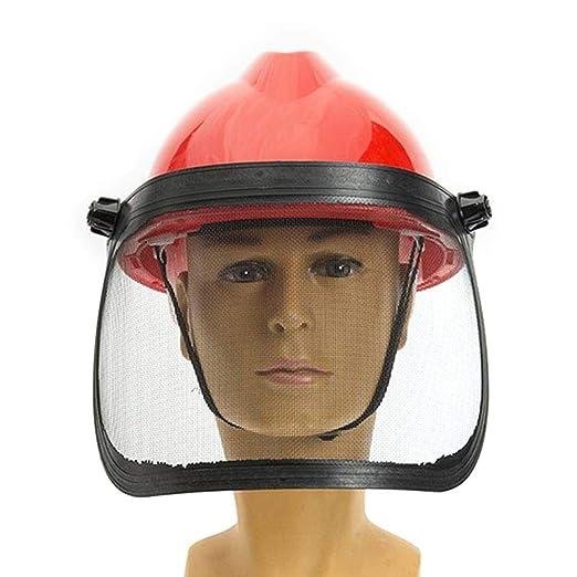 Casco de seguridad, máscara protectora para cortadora de ...