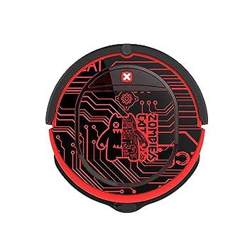 CY666 Robot Aspirador 2 en 1 aspira y friega con sensores anticaída ...