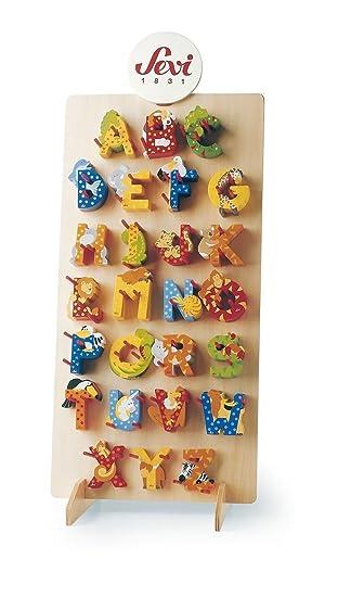 Sevi Holzbuchstaben Tiere 3 Stück inkl. Geschenkverpackung I ...
