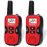 Amazon Price History for:OUREAL Kids Walkie Talkies Toys Long Distance 22 Channel FRS/GMRS 2 Way Radio for Kids (1 Pair) Red