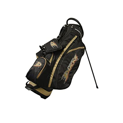 8e73e469f75 Team Golf NHL Anaheim Ducks Fairway Golf Stand Bag, Lightweight, 14-way Top