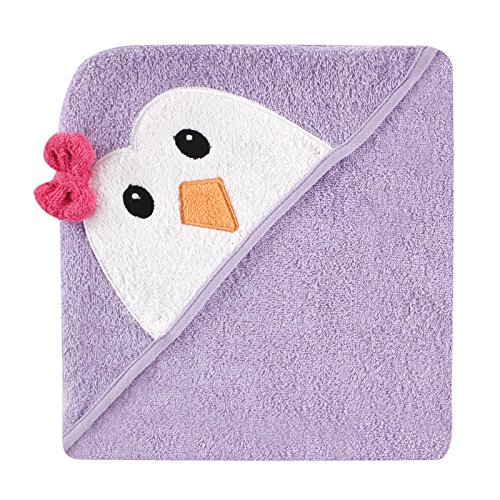 girls hooded bath towel - 1