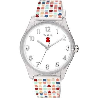 Reloj Tous 900350255 Tartan Kids de policarbonato con Correa de Silicona 36,5 mm.: Amazon.es: Relojes