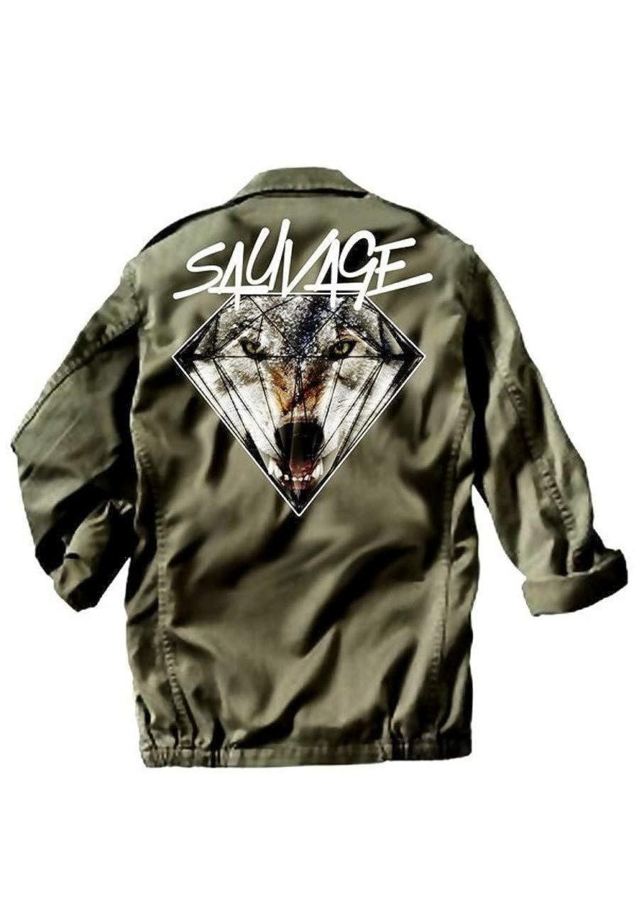 Veste Militaire Wolf Sauvage