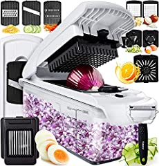 slicers for fruits and vegetables fruit slicer food processor small food choppers and dicers zoodler spiralizer mini chopper kitchen tools and gadgets onion cutter french fry cutter stainless steel vidalia chop wizard electric spiralizer nut ...