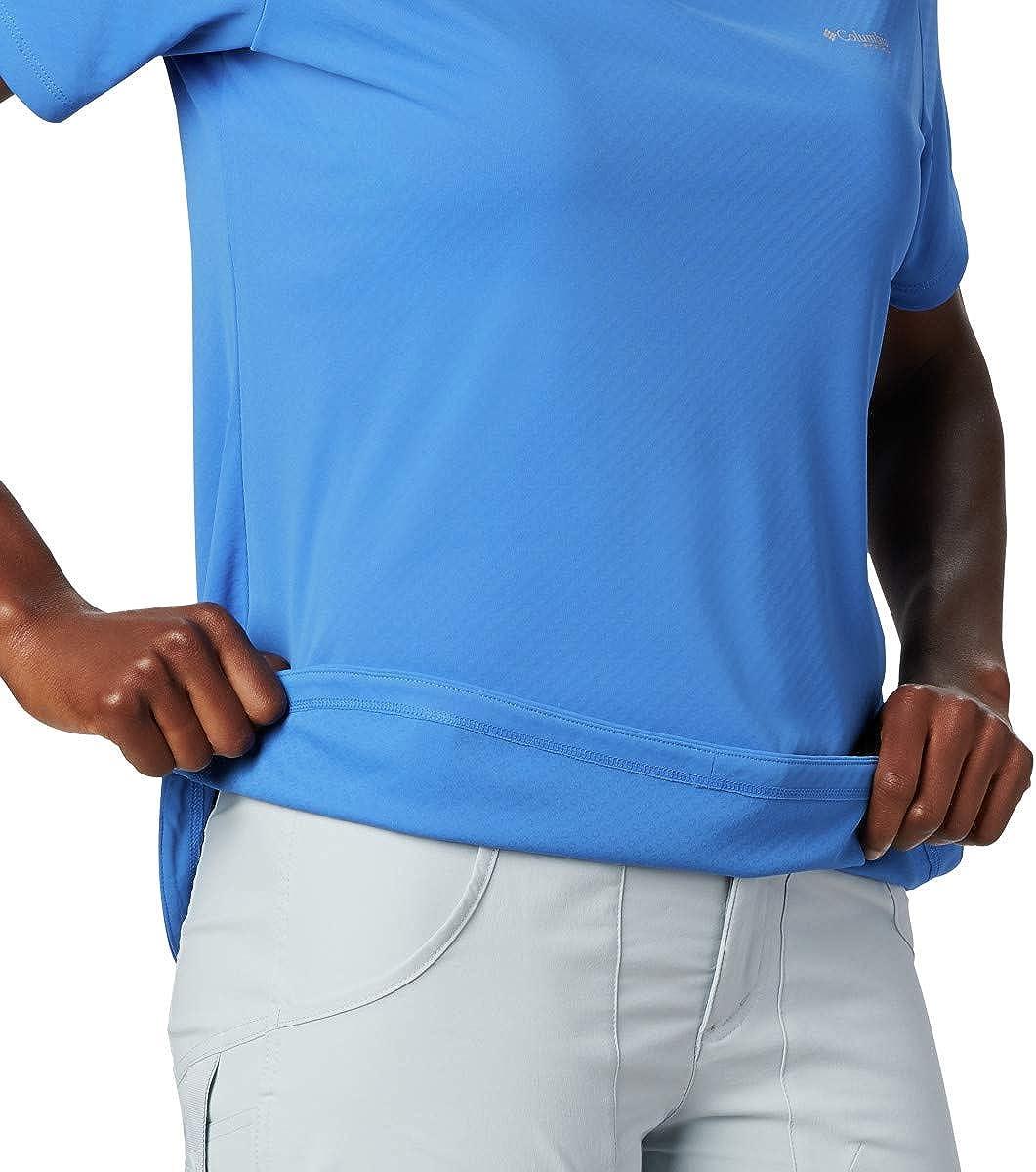 Columbia Womens PFG Zero II Short Sleeve Shirt