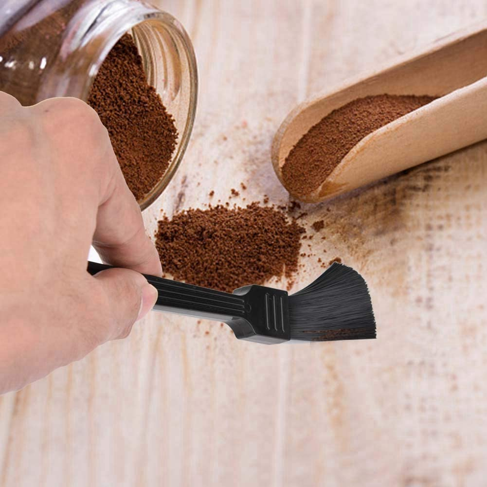 Fdit Long Handle Brush Cleaning Brush For Coffee Bean Grinder Cleaning Tool for Home