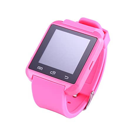 Reloj inteligente THG Rosa U8 la pantalla tš¢ctil de Bluetooth 4.0 del reloj: Amazon.es: Electrónica