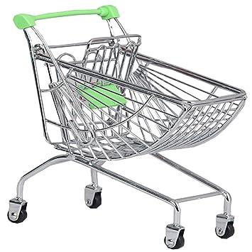 Black Temptation Mini Carrito de Compras de Juguete Carretilla de Mano Mini supermercado,Almacenamiento de Escritorio Verde # 11: Amazon.es: Juguetes y ...