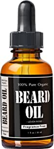 Leven Rose Beard Oil and Leave In Conditioner With Skin Doctor Magic Black Hair Shampoo