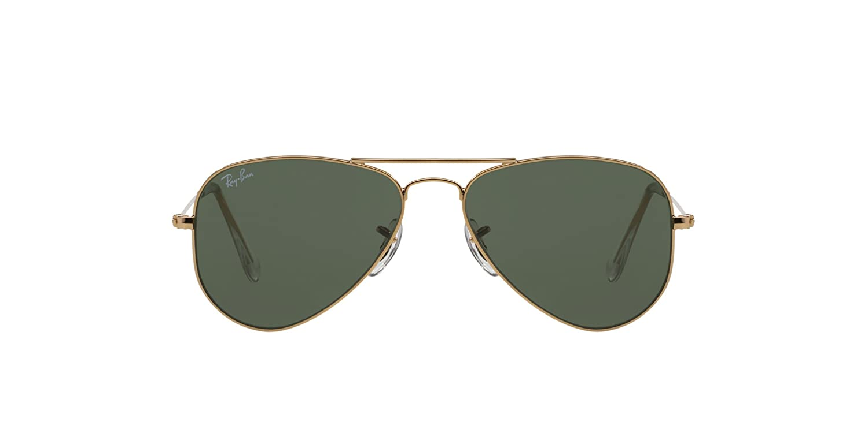 Amazon.com  Ray-Ban RB3044 L0205 Aviator Classic Non-Polarized Sunglasses,  Arista Crystal Green, 52 mm  Shoes 4359f65e089a