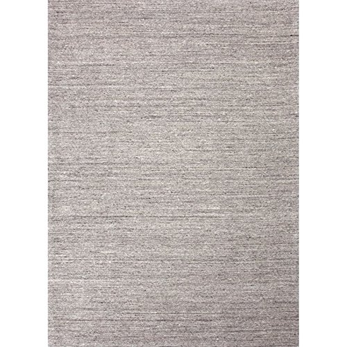 Jaipur Living Elements Handloom Solid Gray/Silver Area Rug (2' X 3') from Jaipur Living