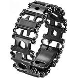 Multi Tool Bracelet for Men, 29 in 1 Stainless Steel Multifunction Bracelet Survival Multitools Bracelet Travel Friendly…
