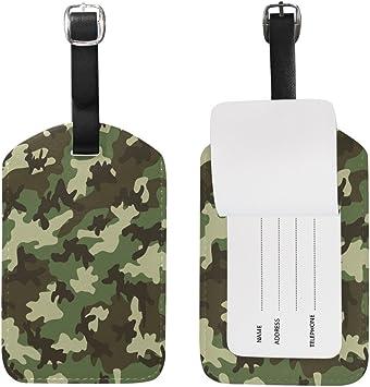 Camo Luggage Tag Military Camouflage Luggage Tag Personalized Camo Bag Tag