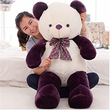 Chocozone Imported Stuffed Soft 150cm Double Color Purple Teddy Bear Birthday Gift for Girls & Girlfriend