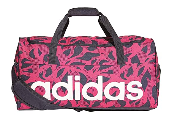 adidas Women s Linear Performance Team Bag, Real Magenta Legend Ink White,  22 0273131405