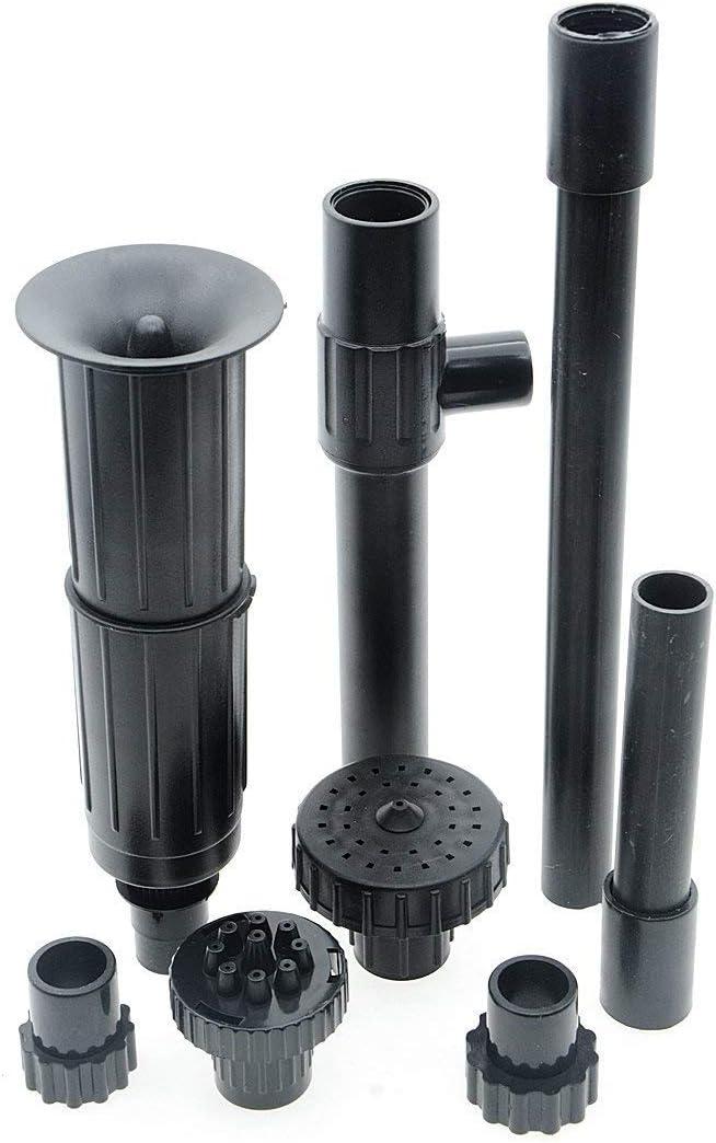 Saim Fountain Nozzle Kit,Water Fountain Spray Head Kit for Garden, Set of 8 Pieces, Large