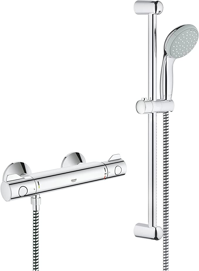 Grohe 34565000 Grohtherm 800 - Sistema de ducha con termostato ...