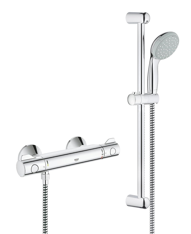 Hervorragend GROHE 34565000 | Grohtherm 800 Shower Thermostat Shower Set UG79