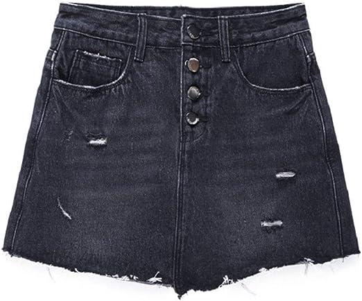 Tallas Grandes Pantalones Cortos for Mujer Faldas Cintura Alta ...