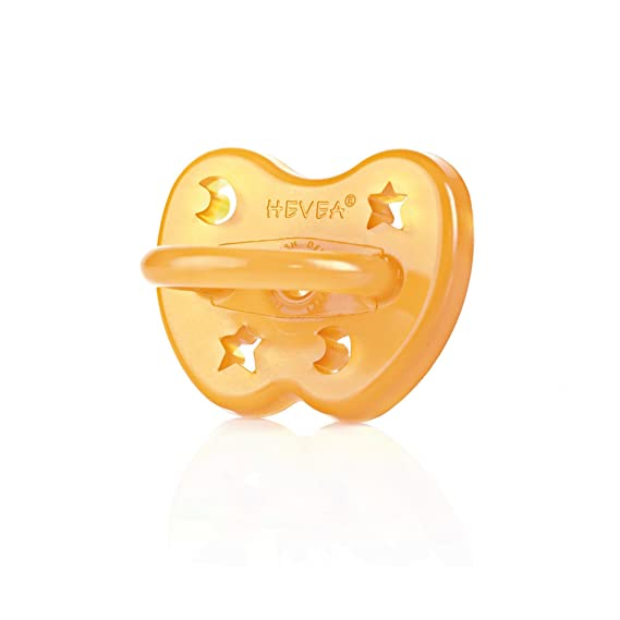Hevea Star & Moon - Chupete anatómico L