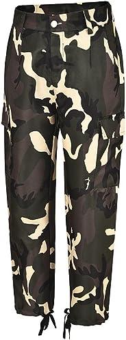 Women Pants,Women's Casual Loose High Waist Long Pencil Pants with Bow Tie Belt Striped Casual Pants Chaofanjiancai
