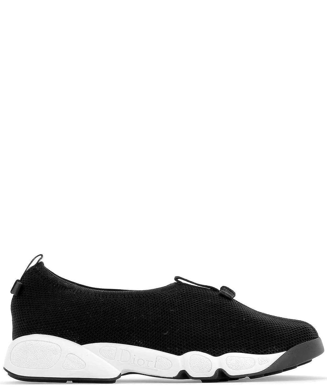 - Dior Women's KCK216TLK11X Black Cotton Slip On Sneakers