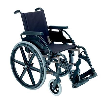 Silla de ruedas manual en acero plegable Breezy 250 asiento ...
