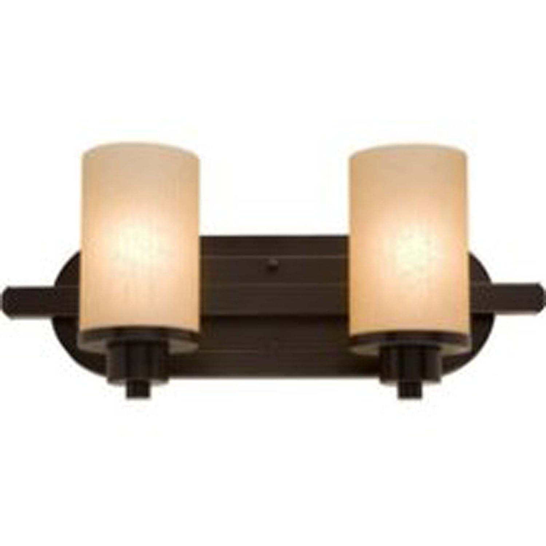Artcraft Lighting AC1302OB Parkdale 2-Light Bathroom Vanity Light Oil-Rubbed Bronze