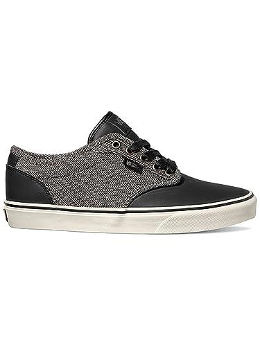 VANS ATWOOD DELUXE XB2K6W homme noir chaussures en tissu gris: Amazon.fr:  Chaussures et Sacs