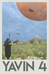 Yavin 4 Rebel Base Fantasy Travel Movie Cool Wall Decor Art Print Poster 12x18