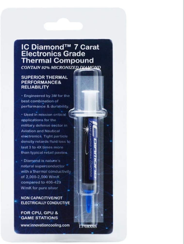 Innovation Cooling Diamond 7 Carat Thermal Compound - 1.5 Grams