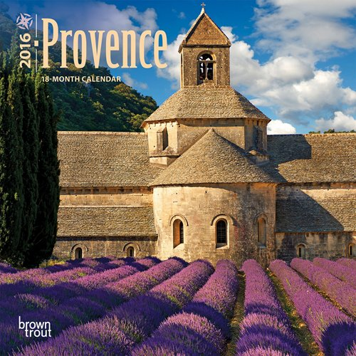 Provence - 2016 Mini Wall Calendar 7 x 7in ()