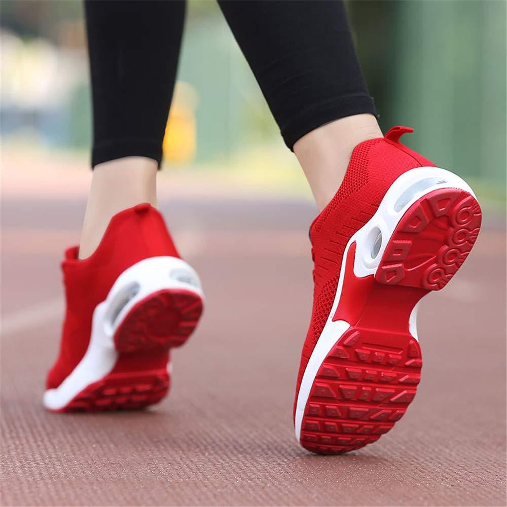 XPERSISTENCE Baskets Running Femme Chaussure de Course Mode Fitness Air Baskets Athl/étique Respirantes Multisport Outdoor Sport Training