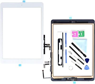 New White Outer Glass Touch Screen Digitizer For iPad Air 5th Generation Gen