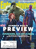 * SUMMER MOVIE PREVIEW * Mark Ruffalo, Scarlett Johansson & Paul Bettany (Avengers: Age of Ultron) - Entertainment Weekly Magazine SPECIAL DOUBLE ISSUE COLLECTOR'S EDITION COVER