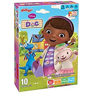 Kellogg's Disney Doc Mcstuffins Fruit Flavored Snacks, 10 Count, 8 Ounce