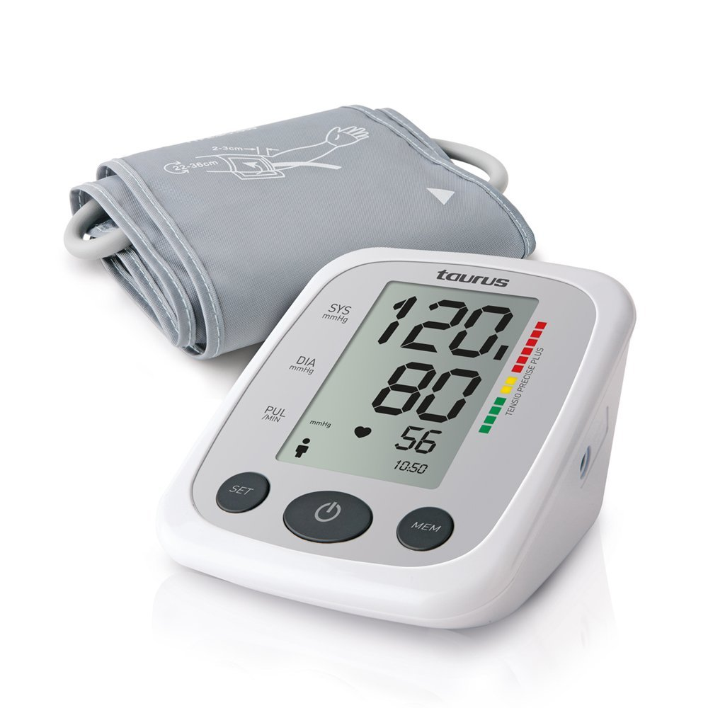 Taurus Blutdruckmessgerät Tensio Precise Plus (60Sticks, LCD-Display)