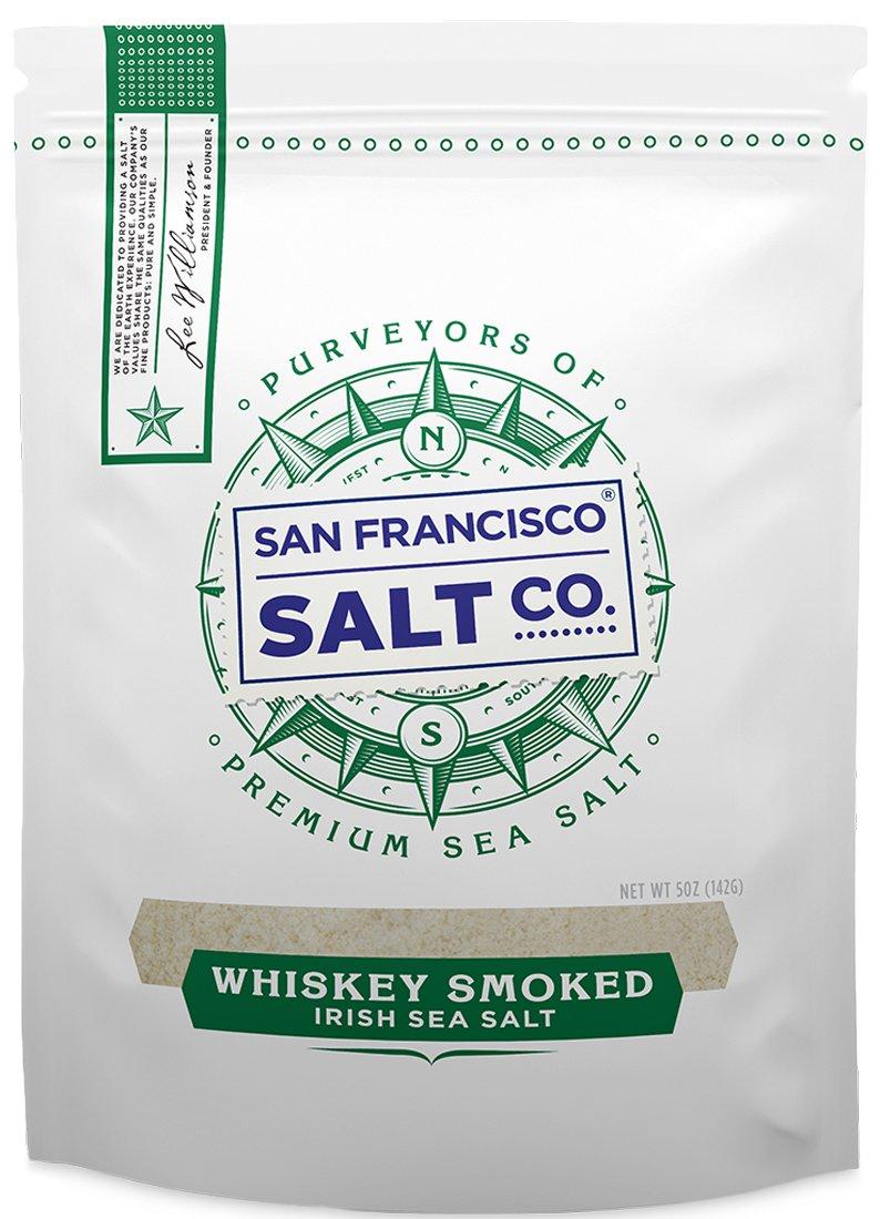 Whiskey Smoked Irish Sea Salt - 5 oz.